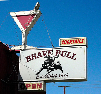 The Brave Bull, Modesto CA. Photo by  Happyshooter http://www.flickr.com/photos/happyshooter